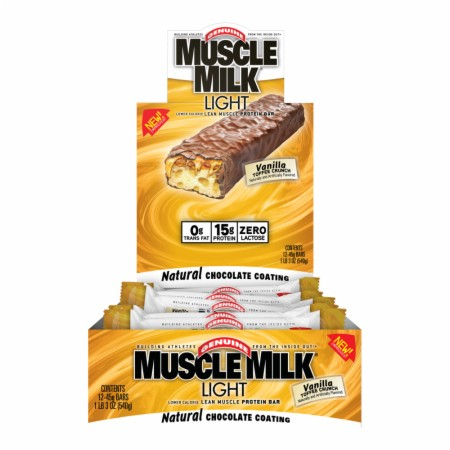Muscle Milk Light Protein Bars